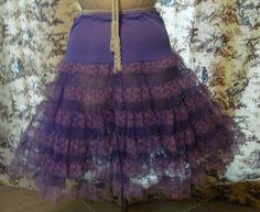 Purple Vintage Crinoline