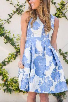 Blue florals!