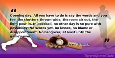 For more inspirational sports quotes please follow and support us. Baseball Motivational Quotes, Ruth 2, Bob Feller, Self Discipline, New Opportunities, News Games, Disappointment, Believe In You, Coaching