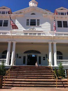 The Haunted Stanley Hotel in Estes Park, Colorado #ColorfulColorado #Colorado www.thebrighterwriter.blogspot.com