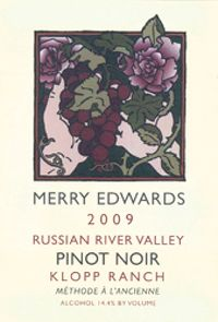 Merry Edwards 2009 Klopp Ranch Pinot Noir (Russian River Valley) | Wine Enthusiast Magazine