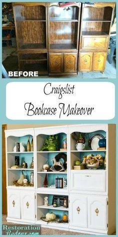 Craigslist Bookcase