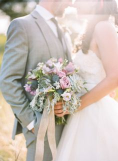Beautiful bouquet: http://www.stylemepretty.com/north-carolina-weddings/asheville/2015/02/16/romantic-and-regal-biltmore-estate-wedding/   Photography: Graham Terhune - http://www.grahamterhune.com/
