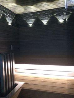 Suunnittelemani valaistus saunaan Sauna Lights, Lighting Store, Blinds, Curtains, Bathroom, Home Decor, Washroom, Decoration Home, Room Decor