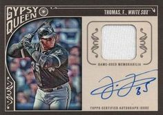 2015 Topps Gypsy Queen - Relic Autographs #AR-FT Frank Thomas Front
