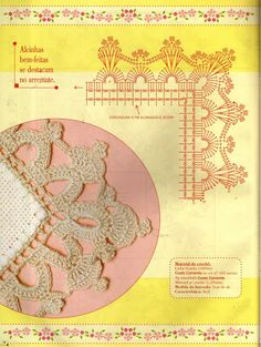 Ponto Cruz & Crochê n. 26 - Walmes Vasconcelos - Picasa Web Albums