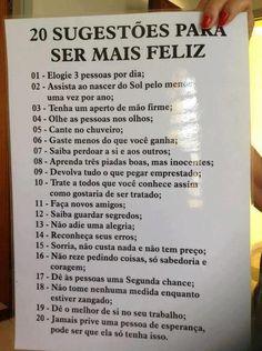 Se a felicidade fosse resumida em uma lista, seria basicamente isso ai ..