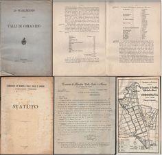 COMACCHIO-FERRARA-LO STABILIMENTO DELLE VALLI DI COMACCHIO 1888-STATUTO-1961