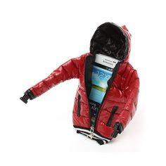 Akıllı telefonunuzun üşütmemesi, ıslanmaması için gerekli her şeyi düşündünüz mü? Örneğin ona bir mont aldınız mı? Winter Jackets for Smartphones telefonunuza konfor sağlarken her göreni gülümsetecek. Mont Şeklinde Kilitli Askılı Telefon Kılıfı ve Cüzdanı kolunuza sabitleyebileceğiniz gibi boynunuza asarak da kullanabilirsiniz. http://www.buldumbuldum.com/hediye/winter_jackets_for_smartphones_mont_seklinde_kilitli_askili_telefon_kilifi_ve_cuzdan/
