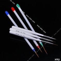 Nail Art Liner Drawing Pen Plastic Painting Brush Tool