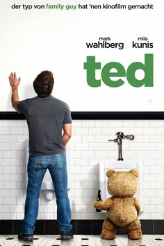 In the red-band trailer for 'Ted', Mark Wahlberg is a man-child still hanging with his foul-mouthed talking Teddy Bear. The feature film debut by 'Family Guy' creator Seth MacFarlane. Comedy Movies, Hd Movies, Movies To Watch, Movies Online, Movies And Tv Shows, Movie Tv, Movies Free, Netflix Movies, Funny Movies