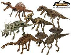 jurassic dinosaur toys | GeoWorld Jurassic Eggs 3D Spinosaurus Dinosaur Skeleton Model Puzzle ...