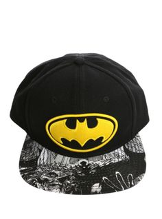 DC Comics Batman Logo Snapback Hat | Hot Topic