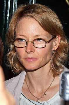 famous people with glasses - Google Search Jodie Foster