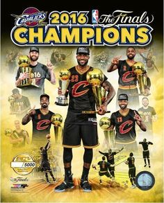 CLEVELAND CAVS 2016 NBA CHAMPIONS TEAM COMPOSITE 8X10 GOLD LICENSED PHOTO #/5000 #PHOTOFILE #ClevelandCavaliers