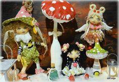 Už ste boli v bábikove? Ručne vyrábané bábiky od výmyslu sveta vás odstanú. Autorka: otigo. Artmama.sk.