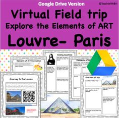 360, VR, Virtual Field Trip, teachwithbri, elements of art, visual art, french, paris, the louvre, louvre, mona lisa, art pieces, artwork, painting, france