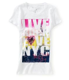 Live Rock Love NYC Graphic T