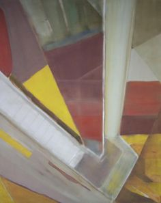 'Escalator to Heaven' / Oil on canvas / 31.50 in x 39.40 in / May 03, 2012