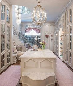 """Now this is a very impressive closet! By Dallas Design Group """