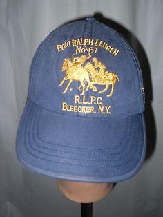 f7f812dada265 POLO RALPH LAUREN MENS CAP BIG PONY MATCH BLEECKER NY NO. 67 HAT PRL CLUB