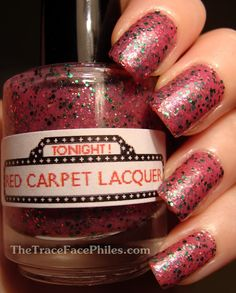 The TraceFace Philes: FROM THE VAULT: Red Carpet Lacquer Veronica!