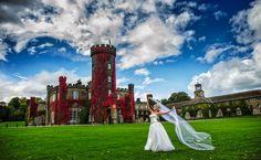 Swinton Park beautiful shot of our Bride in front of the building Park Weddings, Wedding Images, Elegant Wedding, Wedding Venues, Wedding Photography, Bride, Building, Travel, Beautiful