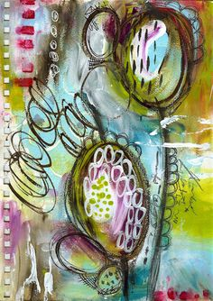 Art Journal Love - REACHING... ? From Roben-Marie Smith