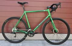 Kona Rove 2013. Steel cyclocross, SRAM Apex. Love.
