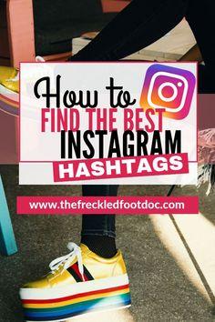 Best Instagram Hashtags, More Instagram Followers, Instagram Marketing Tips, Instagram Tips, Social Media Tips, Social Media Marketing, Content Marketing, Affiliate Marketing, Hashtag Finder