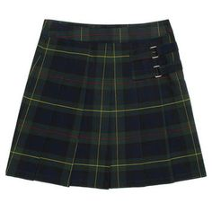Plaid Two-Tab Scooter<br>(Plus Size 10.5 - 20.5)</br>