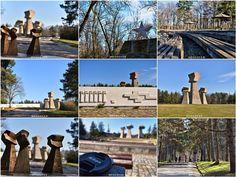 Serbia Travel, Concrete Architecture, Concrete Design, Love People, Travel Advice, Where To Go, Railroad Tracks, Wwii, Road Trip