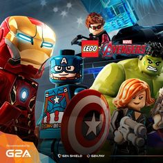 Play as the most powerful superheroes with today's Game of The Day: #LEGOMarvelAvengers