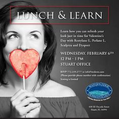 Join us for a Lunch & Learn on February 6 from noon to 1 p.m. at the Stuart office. RSVP to claim your space and take advantage of a one-time offer.