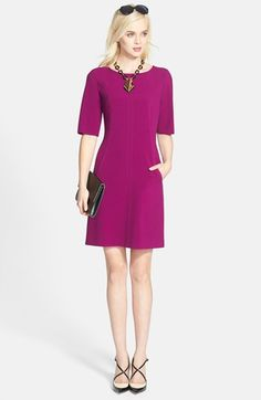 cf81ddca2fa Tahari Seamed A-Line Dress (Regular   Petite)