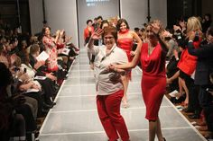 "#StyleWeek Northeast presents ""Red On The Runway"" 