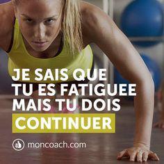 Pensez à tous les avantages que vous pourrez avoir ! #motivation #inspiration #fitness #santé