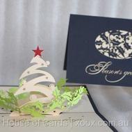 Seasons Greetings Christmas Pop Up Greeting Card    http://www.xoox.com.au/