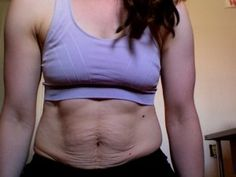 shape of a very fit & active mother… no darlings,  95+% of women end up with stretch marks & saggy skin in places. Yes, darlings, the magazines, media & society in general lied to you.