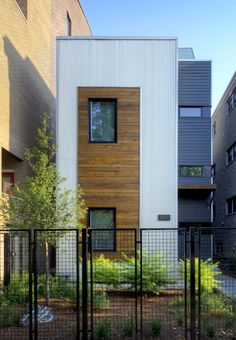 137 best Small houses - Casas pequeñas images on Pinterest | Small Chae Won Kim And Beat Schenk Of Design Build Company Uni Created Xs House In Cambridge Ma on