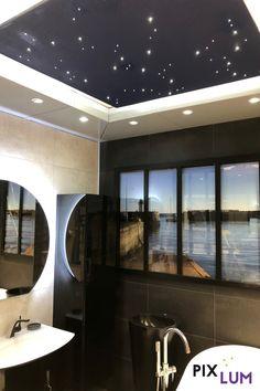 Die richtige Badezimmerbeleuchtung sorgt dafür, dass wir uns wohlfühlen. Ein Sternenhimmel bringt das Urlaubsfeeling direkt nach Hause! Ihr könnt euch euren eignen individuellen Sternenhimmel ganz leicht an die Decke zaubern. Erfahrt mehr über die PIXLUM LED Sternenhimmelbausätze für zu Hause! Bathtub, Led, Bathroom, Bathing, House, Standing Bath, Washroom, Bath Tub, Bath Room