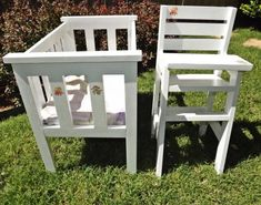 Doll Crib and High Chair, Modified | Do It Yourself Home Projects from Ana White