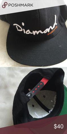 Diamond Supply Co Hat SnapBack Diamond Supply Co. Accessories Hats