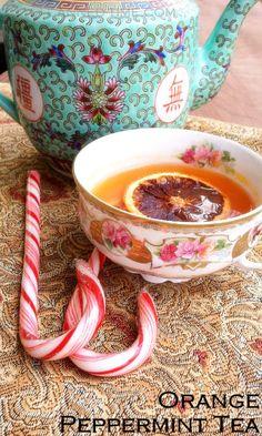 Peppermint Orange Tea