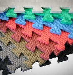 Grey Softwood Interlocking Foam Floor Tile Trade Show Flooring Interlocking