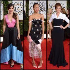 Beautiful ladies...not so cute dresses