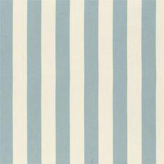 Canopy Stripe Spa/Sand Sunbrella® Fabric by the Yard