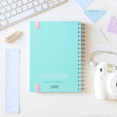 Agenda SEP 2015 - DIC 2016 ¿Qué planes geniales tienes para hoy? #mrwonderful #mrwonderfulshop #agenda #diary #agendawonder #agendaswonder