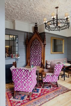 opulence in the rude room.....