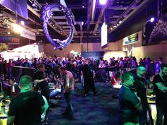 PAX Prime attendees flocked to the ESO booth to get their first hands-on time with the game.